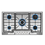 """Empava 36"""" Stainless Steel Gas Cooktop"""
