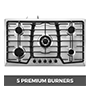 Happybuy 5 Burner Cooktop
