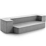 LUCID 4 Inch Folding Sofa & Play Mat