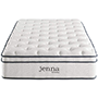 "Modway Jenna 10"" Quilted Pillow Top Twin Mattress"