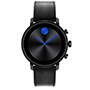 Movado Connect 2.0 Leather Watch
